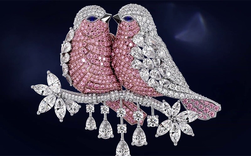 10 Graff diamond jewelry pieces compiled in video