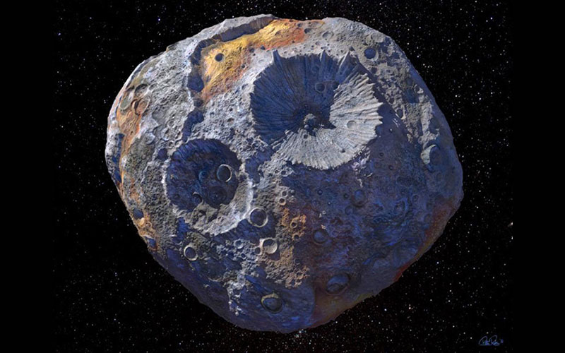 See the Asteroid worth more than our global economy