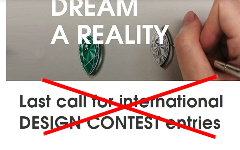 Design Contest entry EXTENDED to August 31!