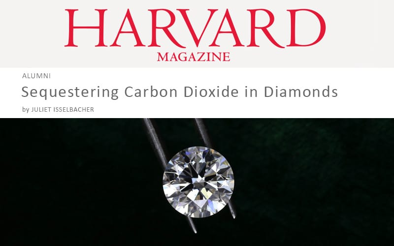 Read more about the article Harvard Magazine reports on IGI Certified Aether Diamonds