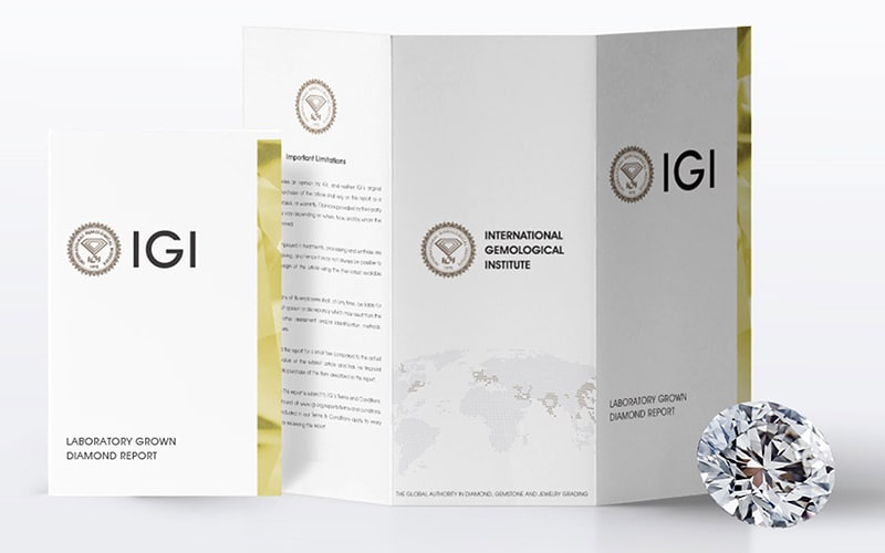 IGI Lab-Grown Reports now Indicate Treatments
