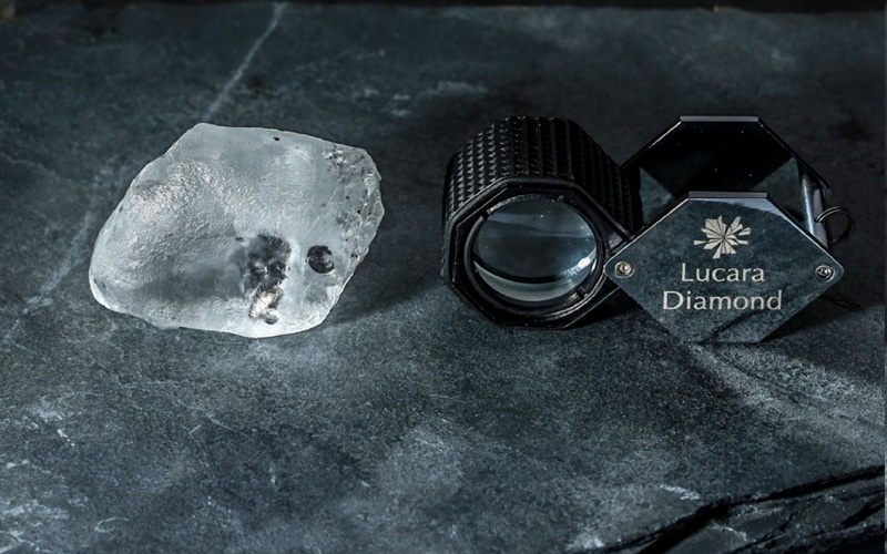 Lucara begins 2021 with a 341 carat stunner