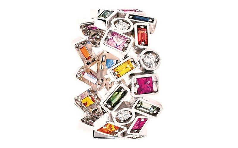 Read more about the article See a RAINBOW of 7 exceptional jewelry pieces