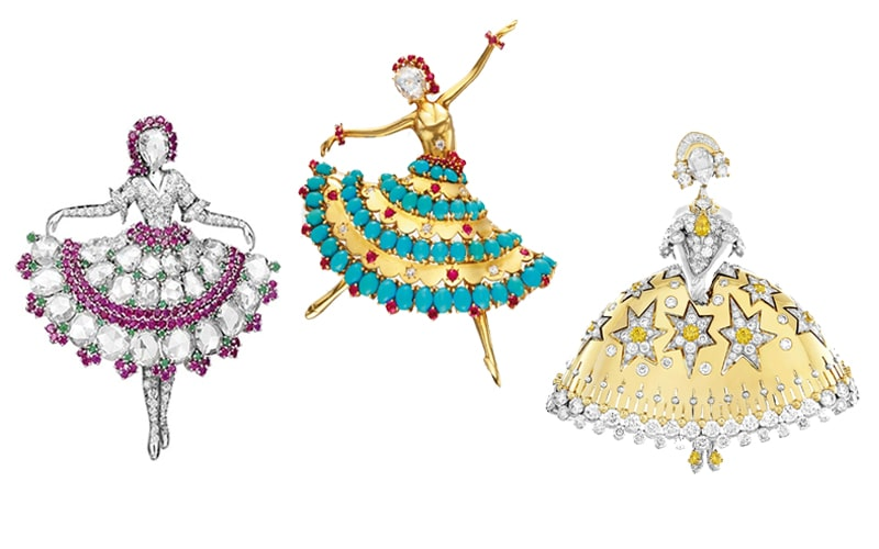 A ballet of joy and hope in jewelry