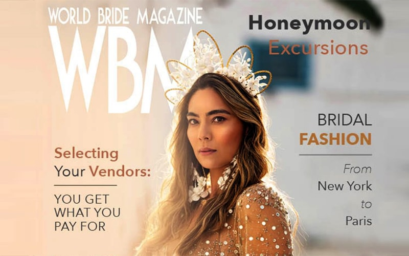 Read more about the article IGI gives advice in World Bride Magazine