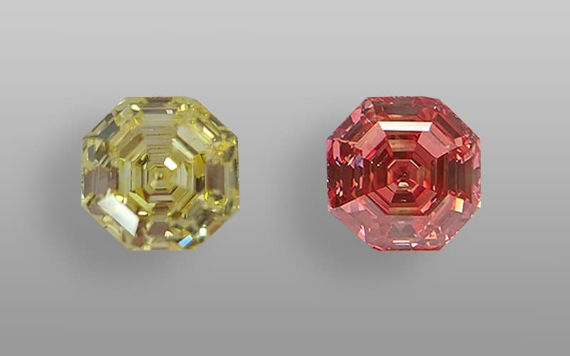 See this 10-carat LGD's color transformed from yellow to pink!